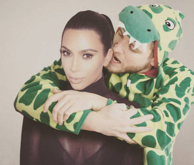 Photoshop Master Appears In Dinosaur Onesie On Photos Of Celebs And Famous Movie Posters