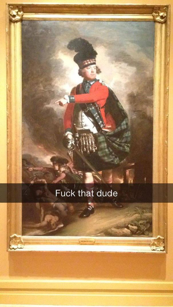 Snapchat + Museum Visit = Fun