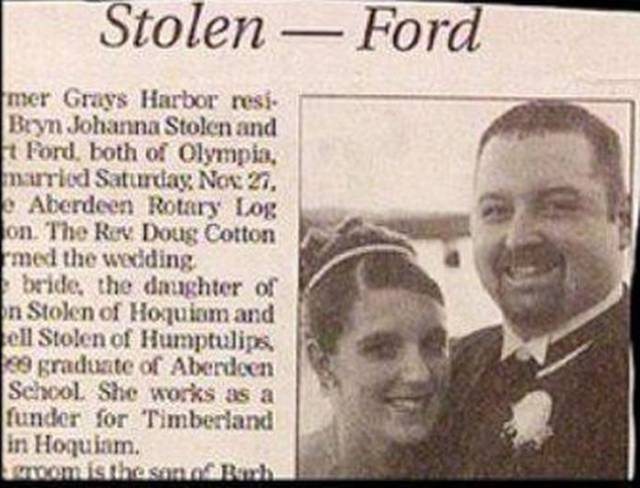 Wedding Name Combos That Are As Unfortunate As They Are Hilarious