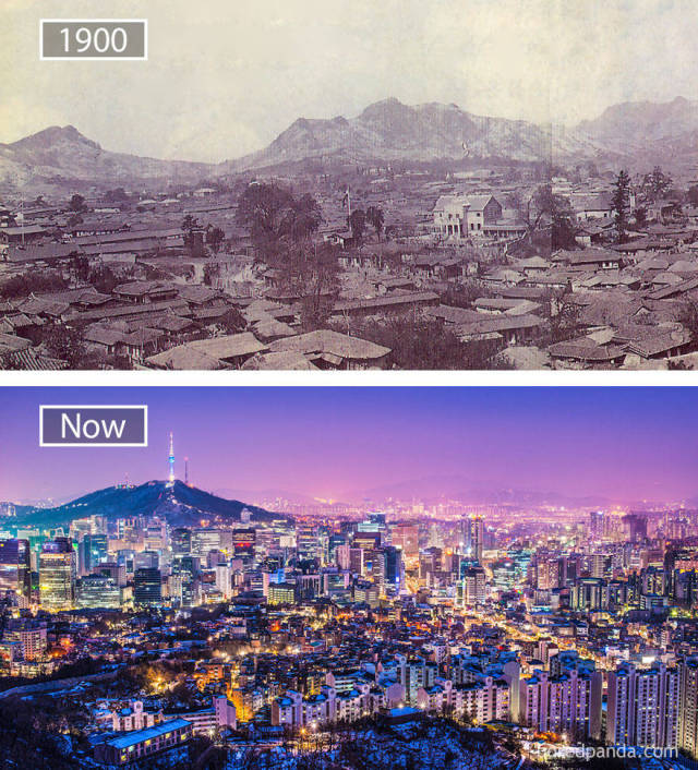 How The World's Most Popular Cities Looked Before vs Now