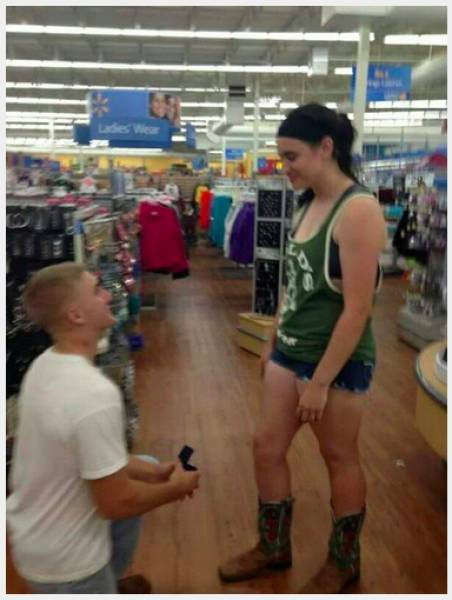 You Can't Find More White Trash Marriage Proposals Than That