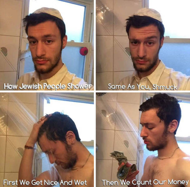 Hilarious Memes Showing How Different People Around the World Take a Shower