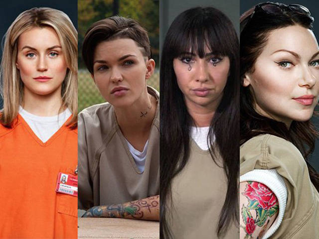 """Orange Is the New Black"" Cast: On Screen vs. Real Life"
