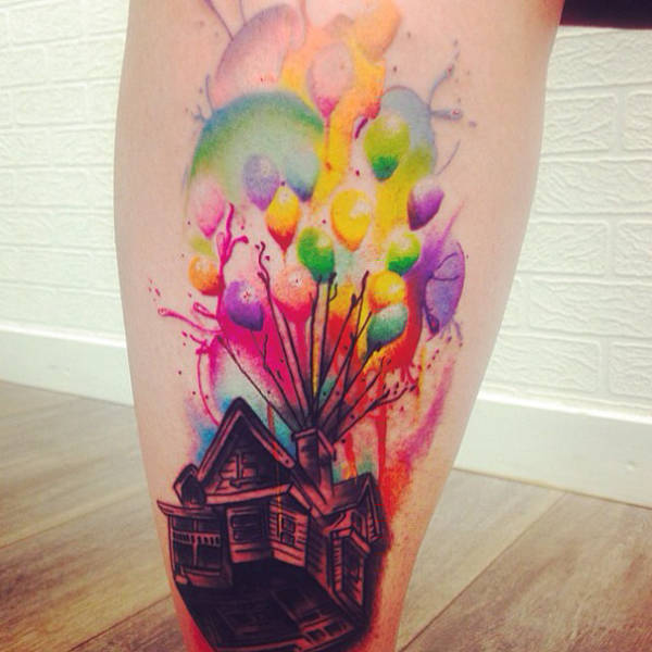 Awesome Tattoos For Pixar Movies Fans