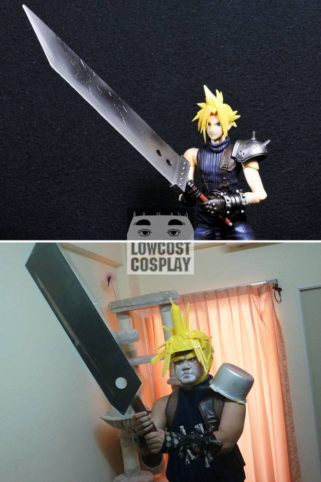 """""""Lowcost Cosplay"""" Guy Surprises Us Again With Costumes Made Of Household Objects"""