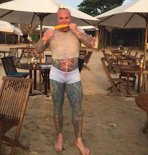 The Weirdest Russian Bodybuilder