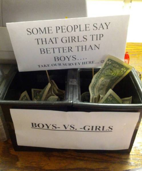 Creative Clever Tip Jars That Will Make You Want To Leave Some Extra Money