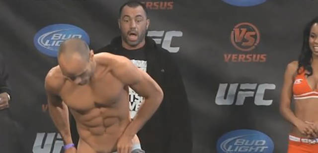 What A Face! Joe Rogan Making Grimaces At UFC Weigh-Ins