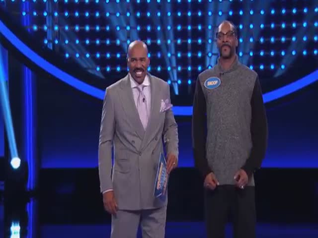 Snoop Dogg's Hilarious Fast Money On Family Feud