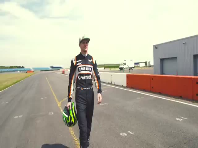 Seeing The Track Through Formula One Driver's Eyes
