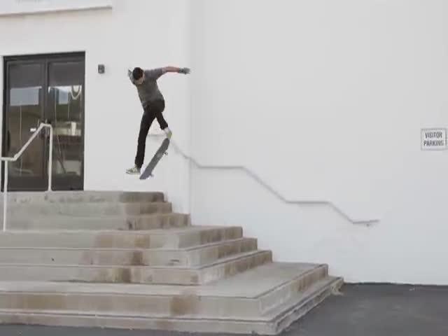 This Dude's Determination Is Darn Amazing!