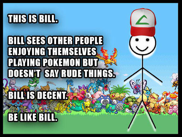 To All The Pokémon Haters Out There