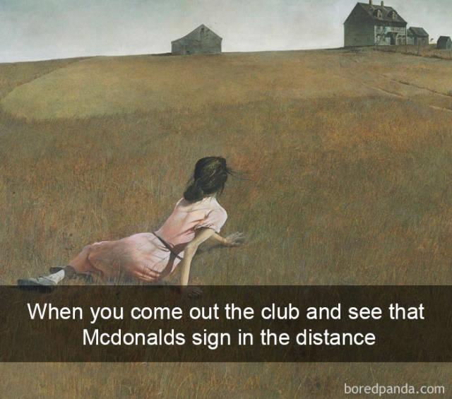 Hilarious Modern Interpretations Of Centuries-Old Paintings