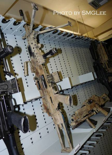 Take A Look Inside A Navy Seal Armory