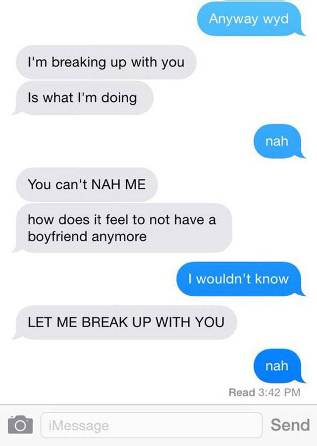The Most Unusual Ways Of Breaking Up