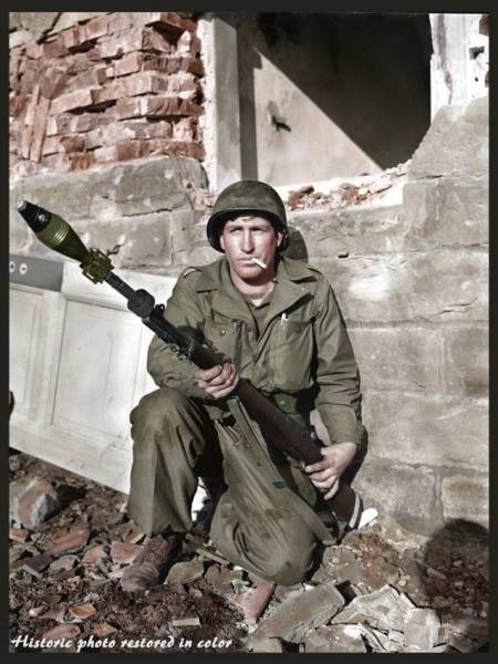 Rare And Stunning Color Photos From World War II