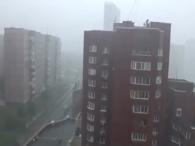 Creepy Alien Tripod In Novosibirsk, Russia