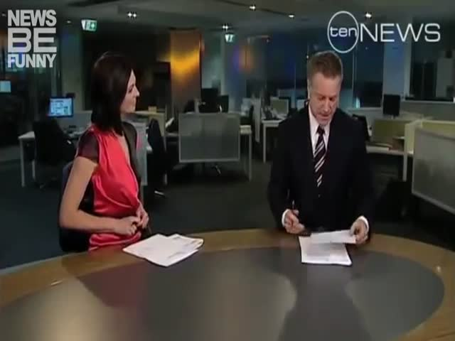 TV News Bloopers Are The Best!
