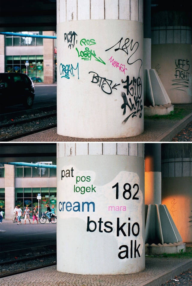 This Is What Graffiti Would Look Like If It Was Legible