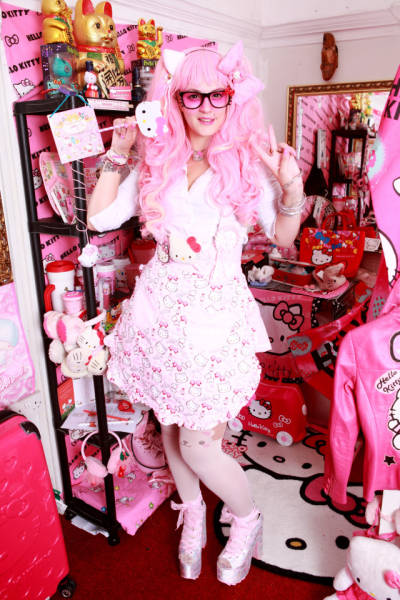Hello Kitty Fan Spends Over $40K On Her Obsession