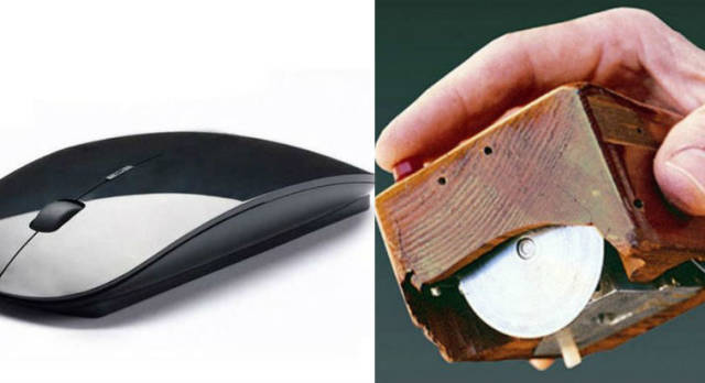 How Some Of The Most Popular Objects Looked Back In The Time vs How They Look Now