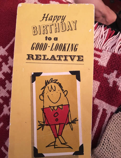 How To Use The Same Birthday Card For Almost 50 Years