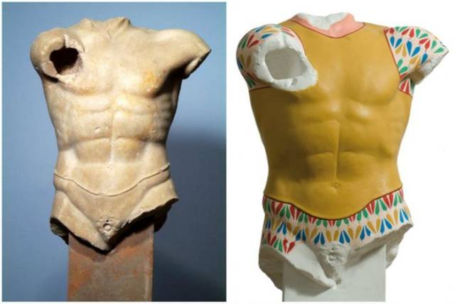 You Won't Believe But Ancient Greek Statues Were Filled With Color