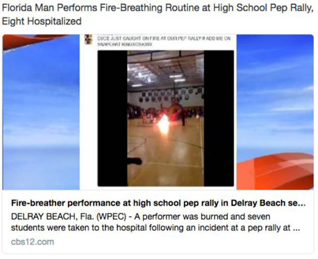 "Funny Tweets About The World's Worst Superhero ""Florida Man"""