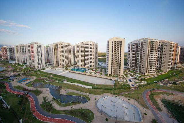 It Looks Like Rio's Olympic Village Isn't Really Ready To Receive Athletes