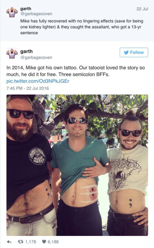 It's Probably The Best Reason To Get Matching Tattoos For Best Friends