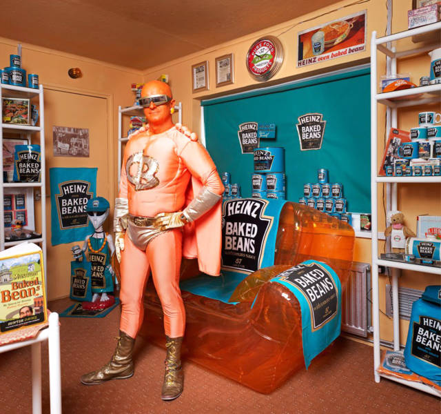 Man Spent $13,000 To Turn His Apartment Into A Baked Beans Museum