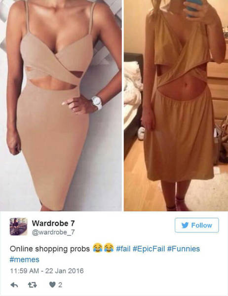 Sometimes Shopping Online Can Ruin All Your Expectations
