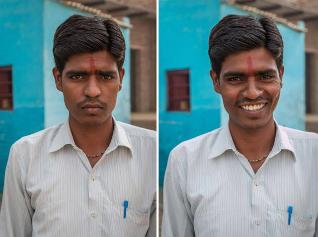 "Amazing Photo Project ""So, I Asked Them To Smile"""
