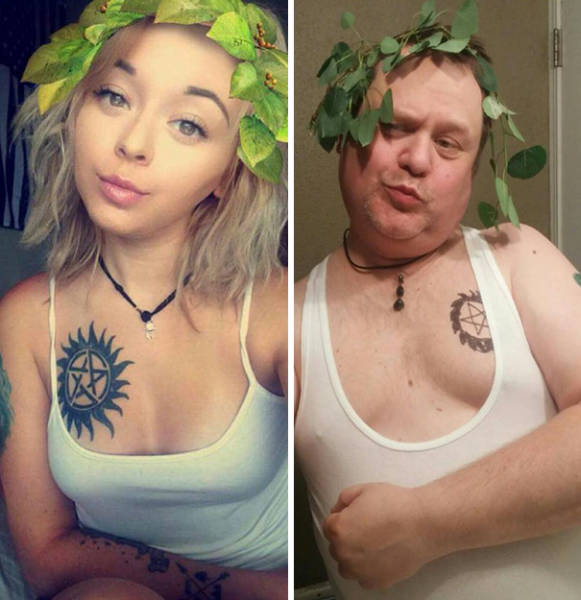 Guys Recreate Girls' Photos And The Results Are Hilarious
