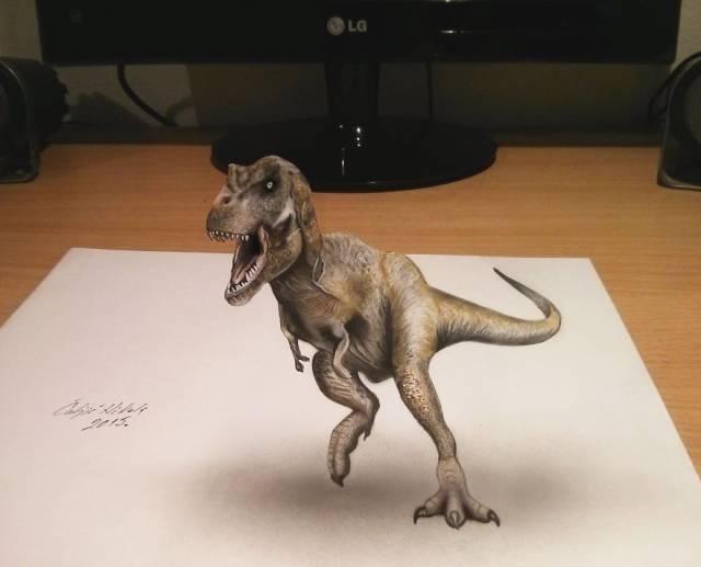 Amazingly Realistic 3D Drawings From Serbian Artist Nikola Culjic
