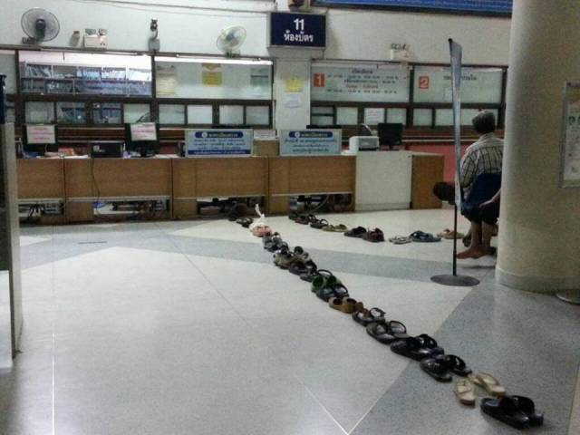 Peculiarities Of Queues In Thailand