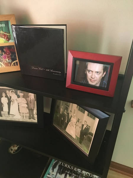 Guy Replaces Family Photos One By One With Steve Buscemi