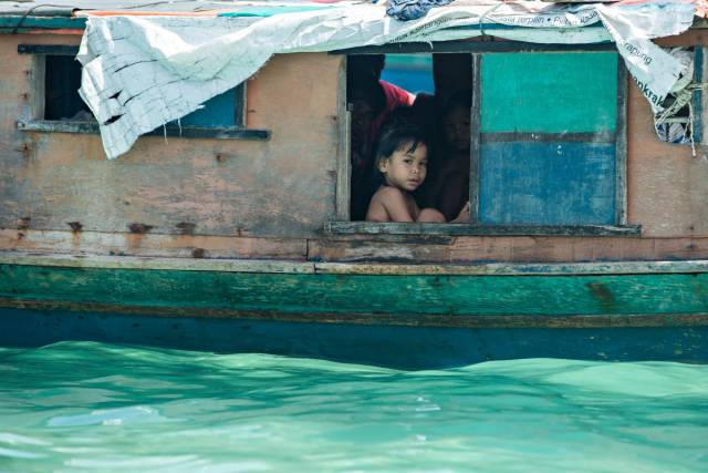 Floating Villages Of 'Sea Gypsies' On The Most Remote Islands Of Malaysia