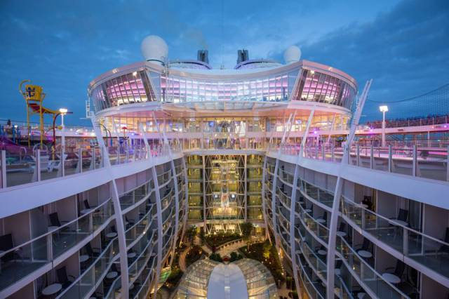A Glimpse Inside The Largest Cruise Ship Ever Built