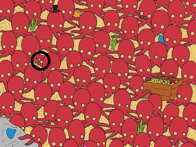 Can You Find The Hidden Fish In This Image?