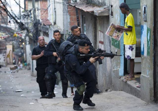 Meanwhile, In Brazil
