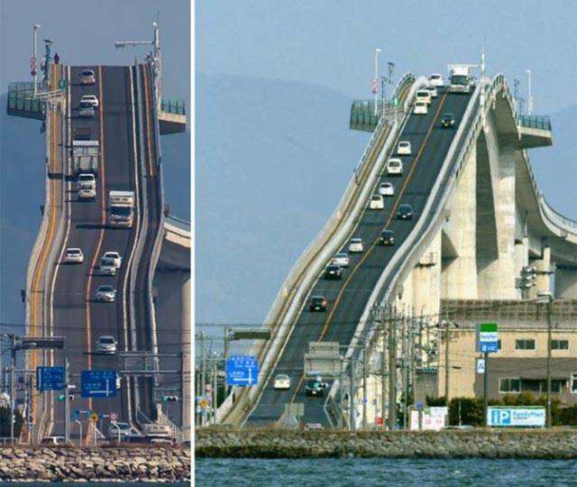 This Japanese Bridge Will Send Shivers Down Your Spine