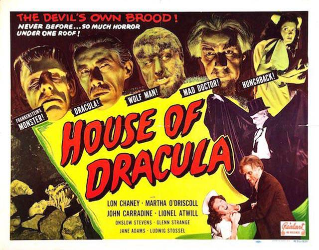 Vintage Posters Of Horror Movies