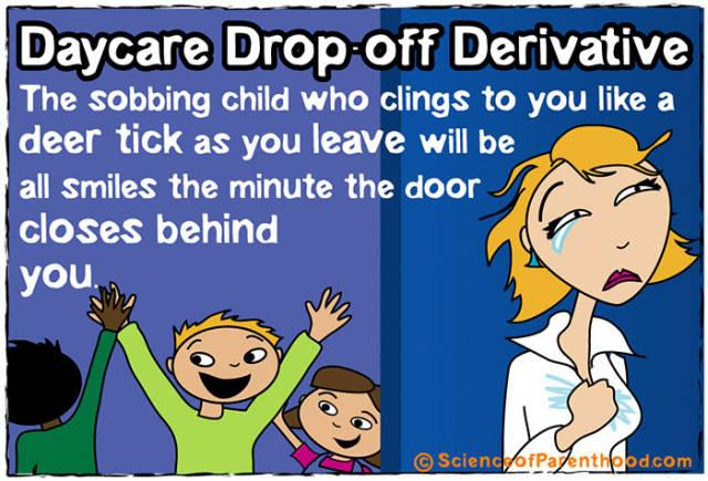 Amusing Comics About Science Of Parenthood