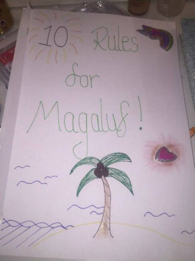 Girl Makes A Hilarious 10 Rule List For Her Boyfriend Who Ahead Of His Boys' Trip