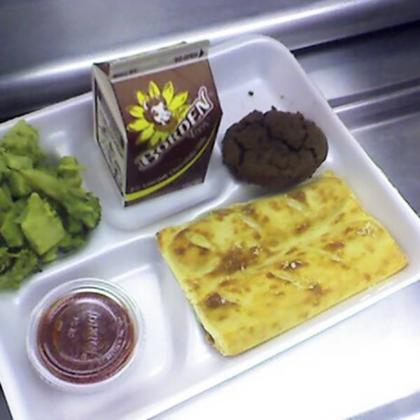 These School Lunches Look Like Prison Food