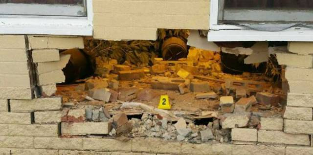 Driver Crashed Into The Wall Of A House And Stumbles Upon Something Unexpected