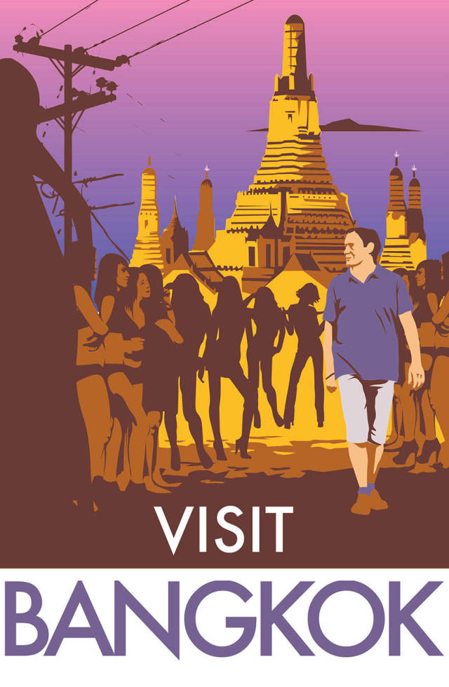 Man Creates Honest Traveling Posters