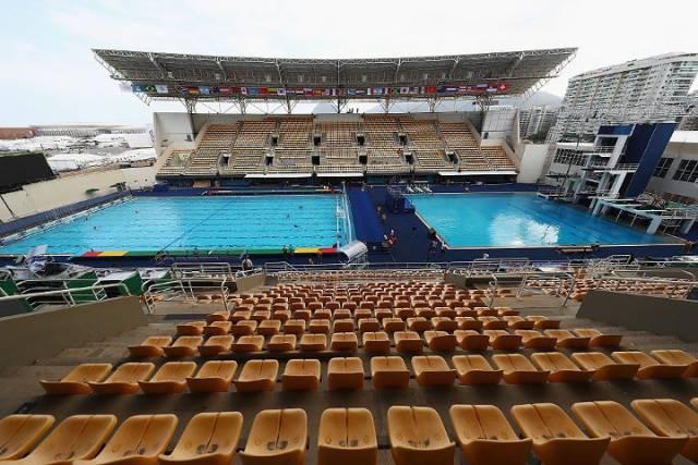 Olympic Pool Turns Green Overnight