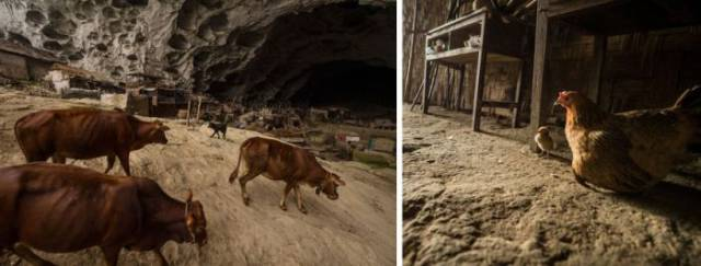 100 People Live In An Incredible Cave Village In China